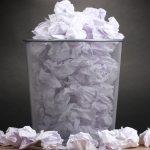 La surutilisation du papier dans les écoles
