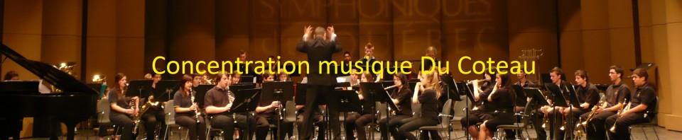 Concentration musique École Du Coteau